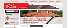 Webáruház referenciák - Bramac tetőcserép webáruház