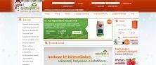 Webáruház referenciák - Egeszsegbolt.hu webáruház