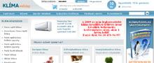 Webáruház referenciák - Klíma webshop
