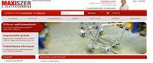 Webáruház referenciák - Maxiszer.hu webáruház