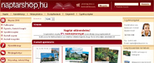 Webáruház referenciák - Naptárshop.hu webáruház