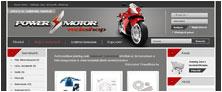 Webáruház referenciák - PowerMotor webáruház