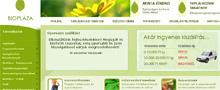 Webáruház referenciák - Biopláza webáruház