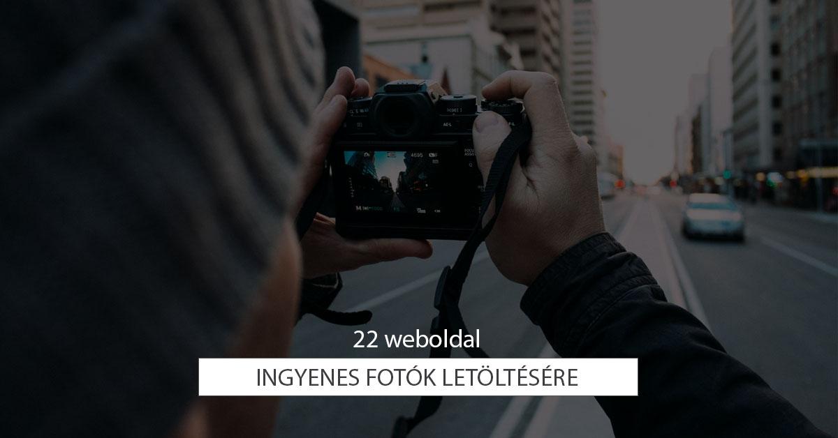 22 weboldal ingyenes fotók letöltésére