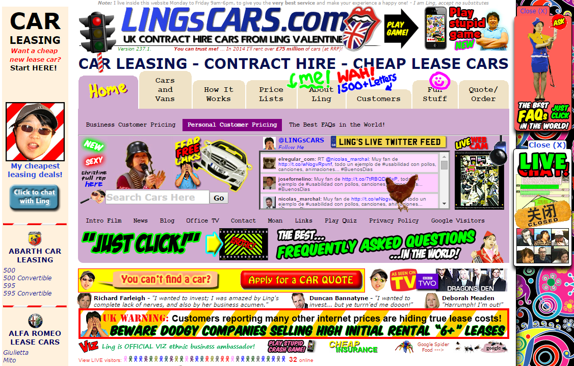 Lingscars főoldal