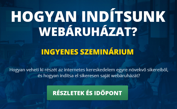 Hogyan indítsunk webáruházat szeminárium